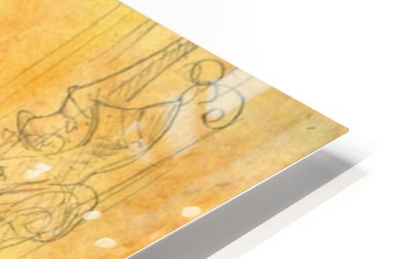 Le Bezigue by Toulouse-Lautrec HD Sublimation Metal print