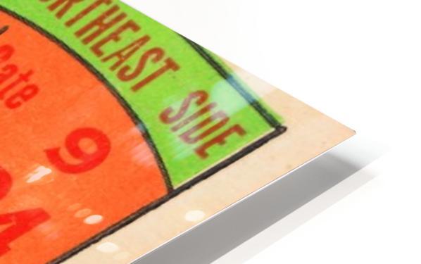 1950 tulane lsu tigers college football ticket sports art gifts baton rouge la HD Sublimation Metal print
