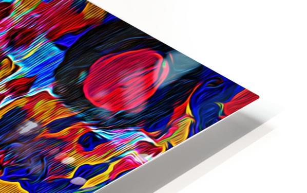 Abstract Bird HD Sublimation Metal print