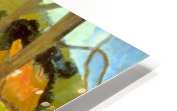 Le Trois Huttes by Gauguin HD Sublimation Metal print
