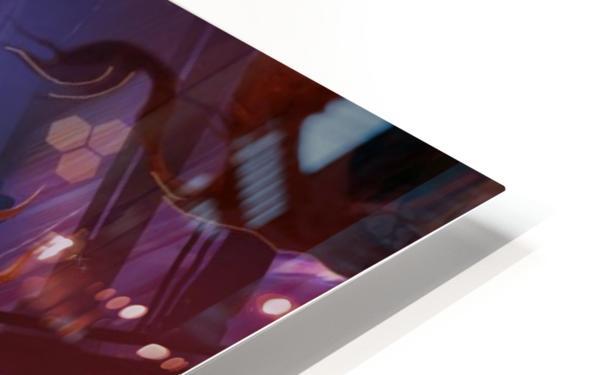 Lights On - Alien Megastructure Rama V HD Sublimation Metal print