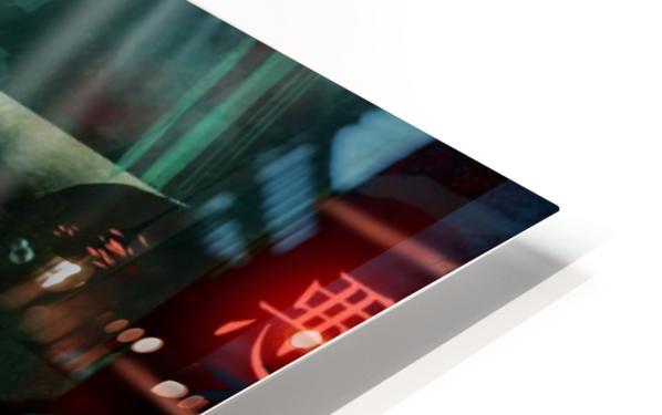 Future Noir - Abyss City HD Sublimation Metal print