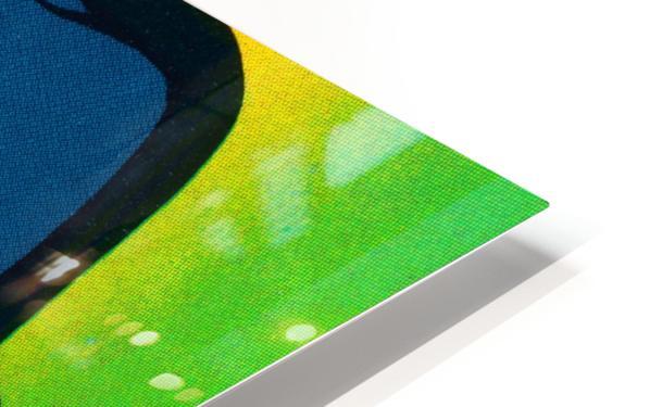 1983 fleer baseball stickers la dodgers ballcap art HD Sublimation Metal print