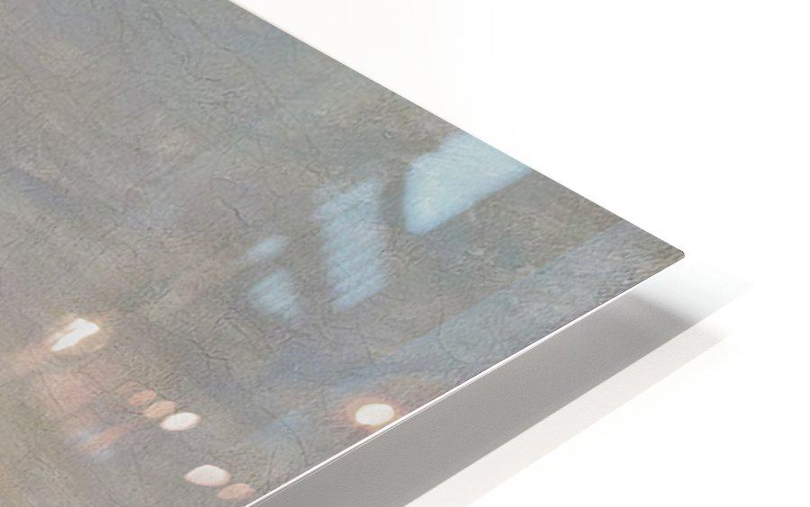 Seilskute i kystlandskap HD Sublimation Metal print