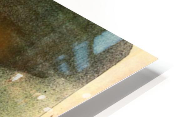 Loie Fuller 2 by Toulouse-Lautrec HD Sublimation Metal print