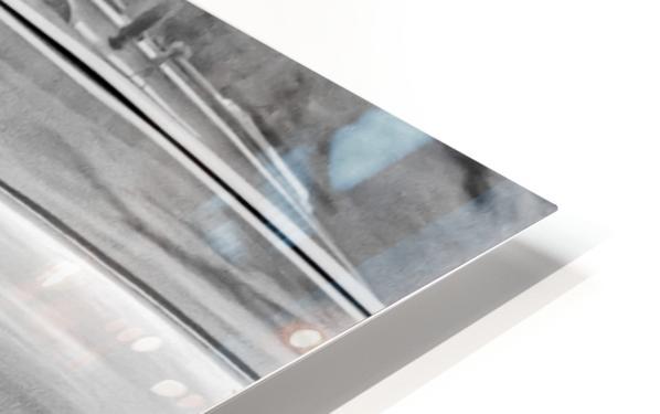 Chrome Sharkfin HD Sublimation Metal print