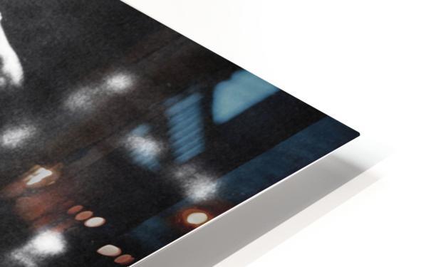 1985 Michael Jordan Black and White Poster HD Sublimation Metal print