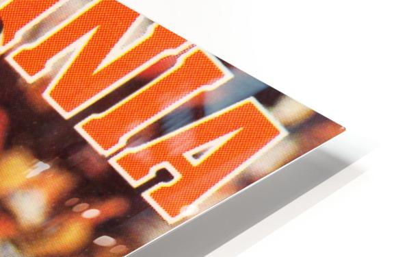 1986 virginia cavaliers football poster HD Sublimation Metal print