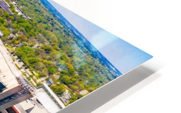 CNN Center Aerial View   Atlanta GA 0588 HD Sublimation Metal print