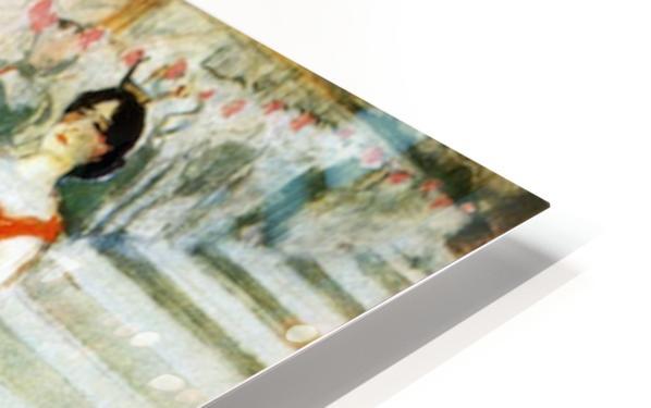 Messalina Descending by Toulouse-Lautrec HD Sublimation Metal print