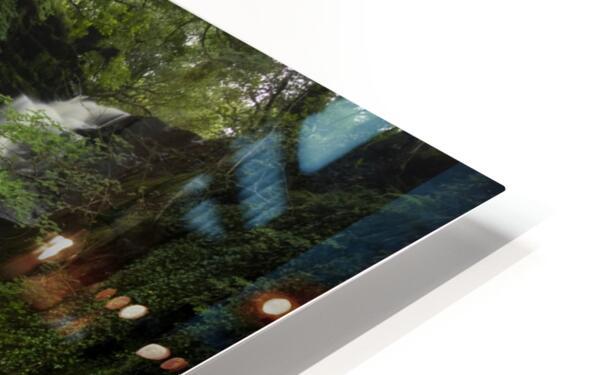 Blaen y Glyn waterfalls HD Sublimation Metal print