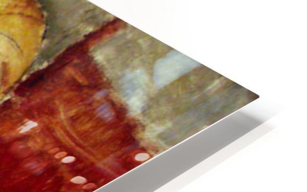 Modigliani - Portrait de Germaine Survage HD Sublimation Metal print