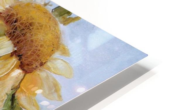 Floarea soarelui HD Sublimation Metal print