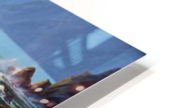 Dancing Tide HD Sublimation Metal print