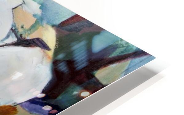 Louisiana Cubist Magnolia HD Sublimation Metal print