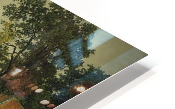 Landschaft in Hessen HD Sublimation Metal print