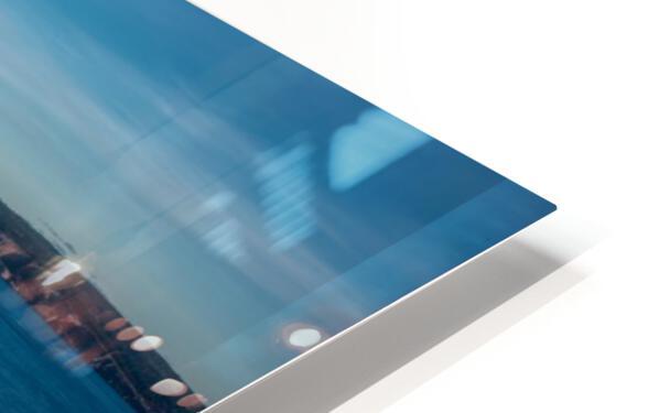 Lumiere sur le Rocher Perce HD Sublimation Metal print