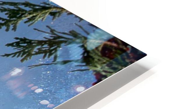 Rocher Perce sous glace HD Sublimation Metal print