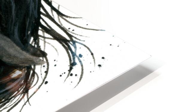 Appalossa Painted Horse HD Sublimation Metal print