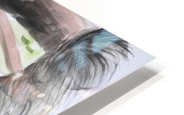 Collection COSTA RICA-Sloth Impression de sublimation métal HD