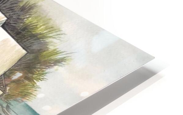 Collection BERMUDA- Stilt house Impression de sublimation métal HD