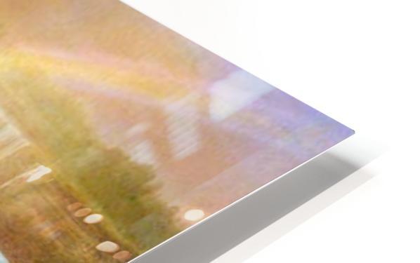 Niagra Falls by Bierstadt HD Sublimation Metal print