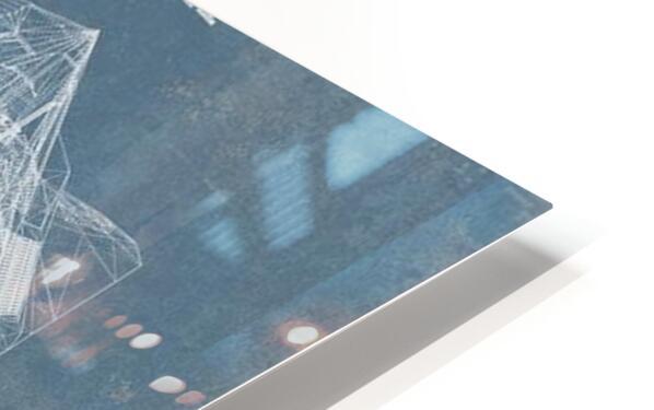 nighthawk HD Sublimation Metal print