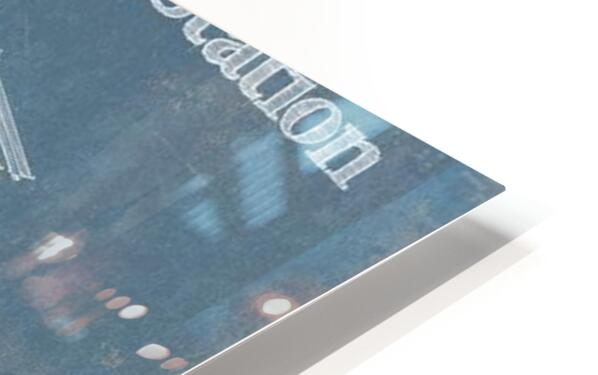 SpaceStation HD Sublimation Metal print