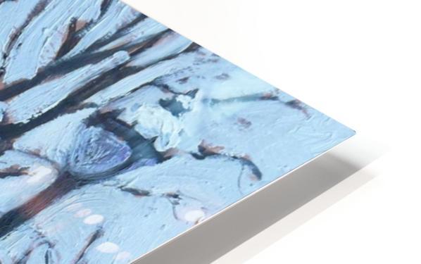 Montreal Winter St-Denis HD Sublimation Metal print