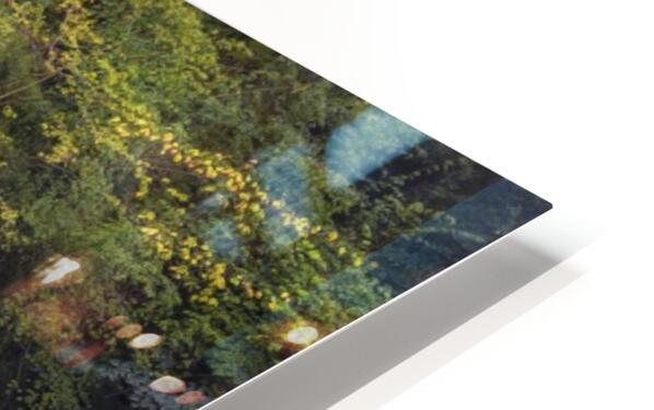 The waterfall Sgwd Clun Gwyn  HD Sublimation Metal print