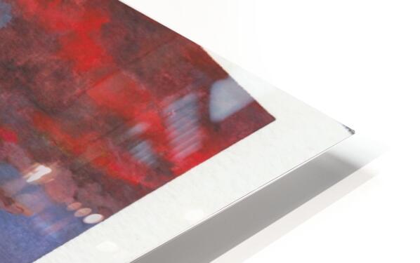 Ruby Night  HD Sublimation Metal print