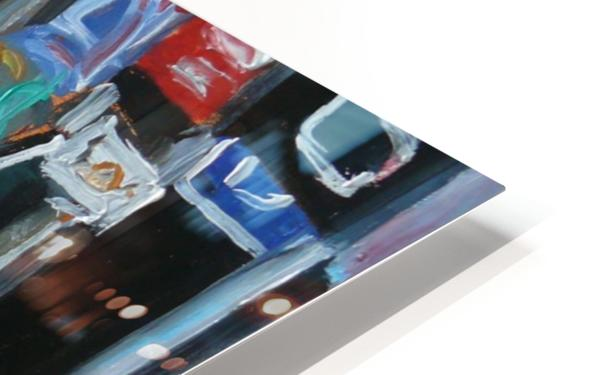 Montrel winter Scene, Ste-Catherine HD Sublimation Metal print