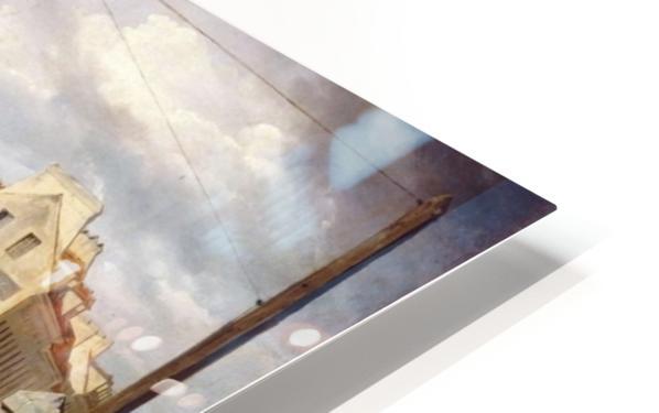 La Barriere de Clichy HD Sublimation Metal print