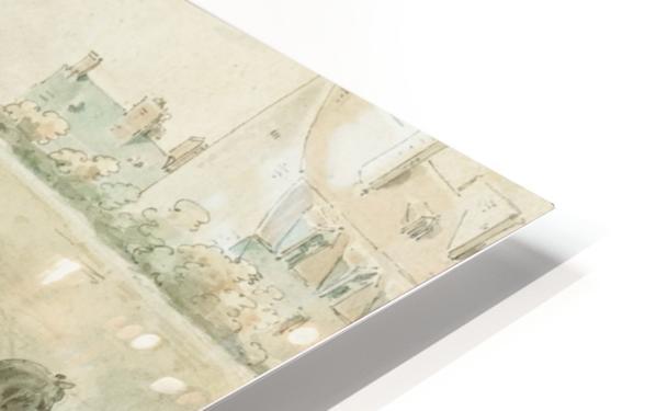 Entourage de Antoine HD Sublimation Metal print