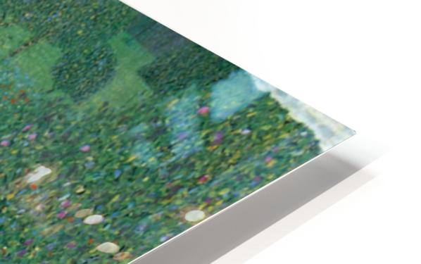 Poppy Field by Klimt HD Sublimation Metal print