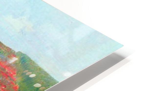 Poppy in the field by Cassatt HD Sublimation Metal print