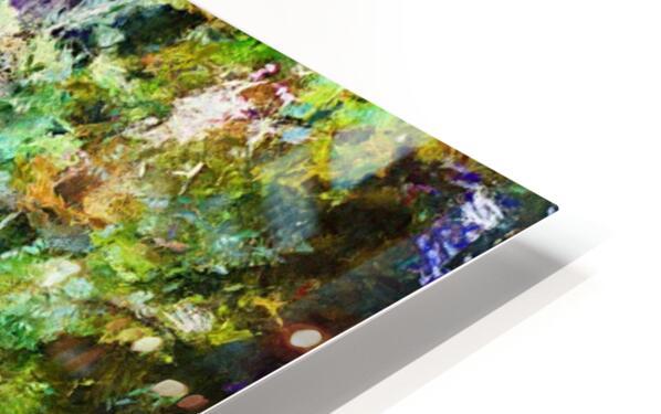 Fall Lake Reflections HD Sublimation Metal print