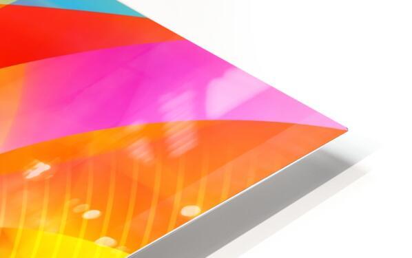 4th Dimension - Abstract Art XVI HD Sublimation Metal print