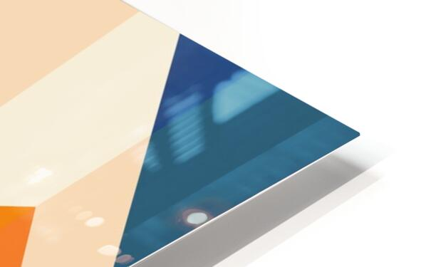 Geometric LI HD Sublimation Metal print