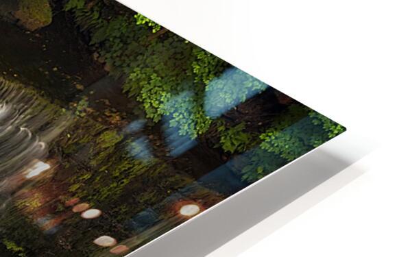 The Sgwd Isaf Clun-gwyn waterfall HD Sublimation Metal print