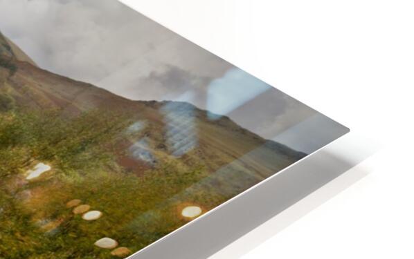 Elan valley landscape HD Sublimation Metal print