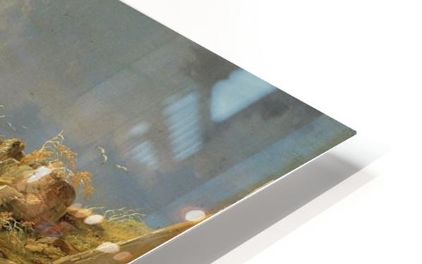 Surf on a Rocky Coast HD Sublimation Metal print