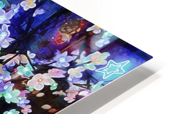 Look Ma Lights HD Sublimation Metal print