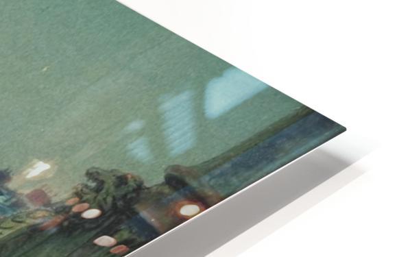 Quai de Paris Rouen HD Sublimation Metal print
