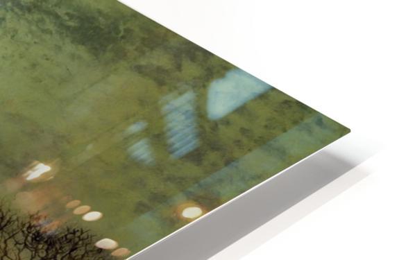 Moonlit Landscape HD Sublimation Metal print
