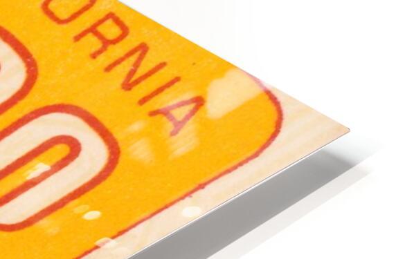 1968 USC Trojans Season Ticket HD Sublimation Metal print