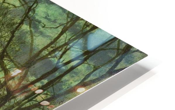 Figures in moonlight HD Sublimation Metal print