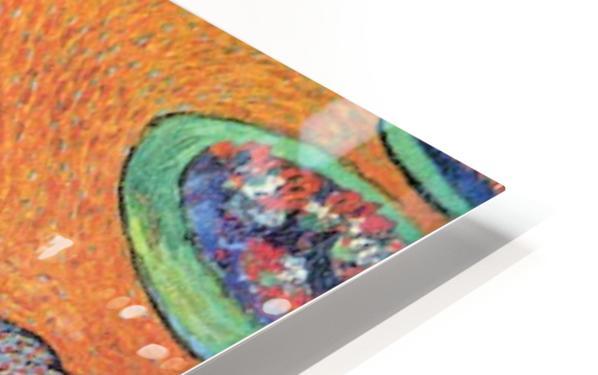 Promenade in Arles by Van Gogh HD Sublimation Metal print