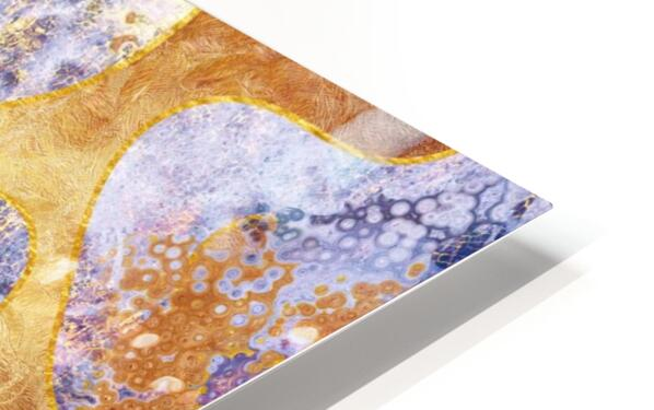 Abstract Marble XXIX HD Sublimation Metal print