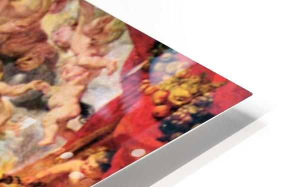 Replacing the Medici Princess by Rubens HD Sublimation Metal print